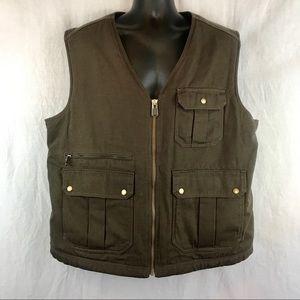 NWOT Duluth Heavy-Duty Man's Brown Vest
